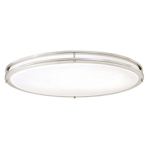 Large Oval Pendant Light - 8