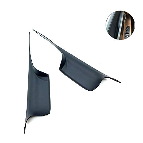 TIKSCIENCE Door Handle Carrier Trim Cover Kit for 7 Series 730 740 750 760 F01/F02 2008-2015, Left Front and Right Front(Set of 2)