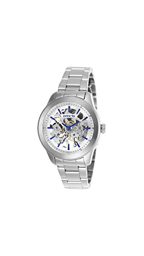 Invicta Vintage Lady Automatic Silver Skeleton Dial Ladies Watch 25750 (Womens Skeleton Automatic Watch)