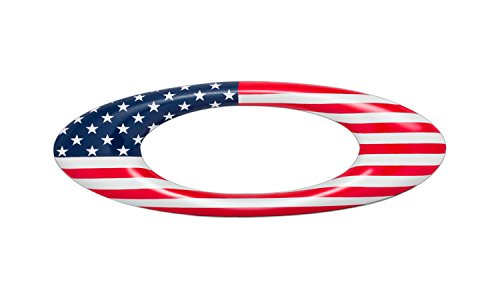 Oakley Metal Sticker – USA Country Flag – Red/White/Blue – One Size Review
