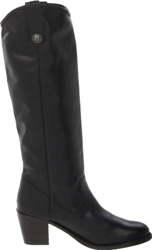 FRYE Women's Jackie Button Boot Black Soft Vintage Leather-76576 cheap online store qR4zbpcmM