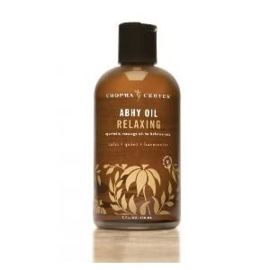 Relaxing Abhy Oil to Balance Vata with Organic Ingredients 8oz