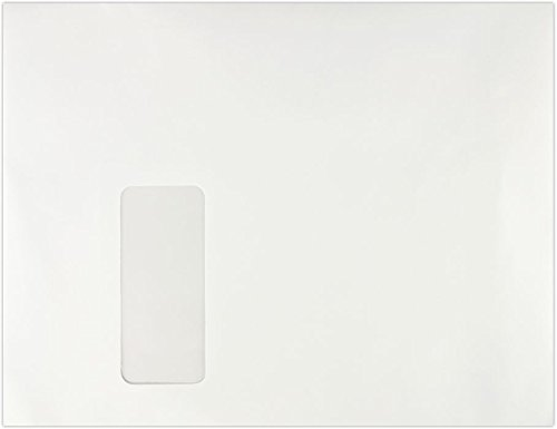 8 3/4 x 11 1/2 Booklet Window Envelopes - 28lb. White (250 Qty) | Perfect for Catalogs, Annual Reports, Brochures, Magazines, Invitations | 811BW-28W-250 envelopes.com