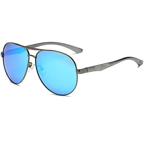piloto sol Aoligei Hombres de polarizadas gafas C magnesio gafas de conducción aluminio de IqSBqAPw