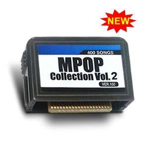 MPOP 400 VOL. 2 Magic Sing Karaoke Song Chip 400 SONGS for ET23KH, ET25K, ET9K, ET19KV, ET18K, ET21KV, ET12K. ET13K