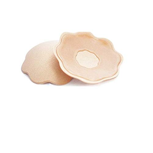 Nipple Covers Pasties Fabric Silicone for Women | Reusable | Self-Adhesive | Fabric & Silicone Nipple Cover