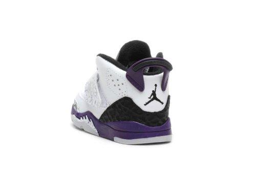 Jordan Kids Son of Mars (Td) White Purple 512244-106 5c