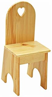 product image for Heart Kids Desk Chair Finish: Sanded / Unfinished