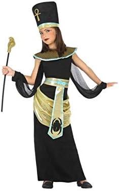 Atosa-56836 Disfraz Egipcia, Color Negro, 10 a 12 años (56836 ...