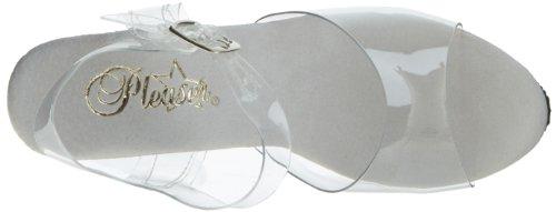 Pleaser DIAMOND-608 Clr/Clr Size UK 3 EU 36
