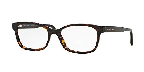 Burberry Women's Optical Frame Acetate Havana Frame/Transparent Lens Non-Polarized Glasses 52 0
