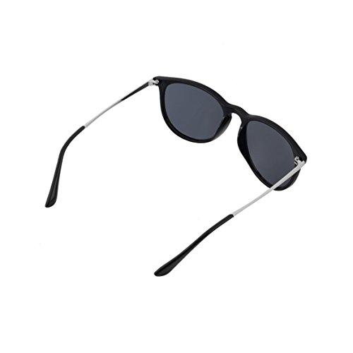 élégant Vintage classique lunettes mode rondes Designer marque Mens Unisexe UV400 rétro Eye Cat de lunettes Womens soleil 1aIzxCqCwd