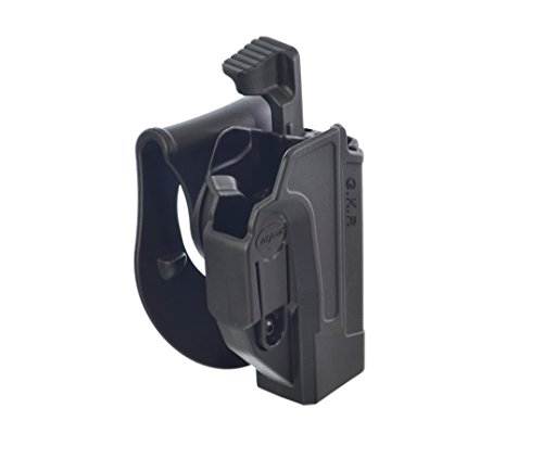Orpaz S&W M&P Professional Thumb Release Holster Rotation Paddle&Belt With Tension Adjustment, Made in Israel by Orpaz