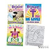 """12 Paper """"He Lives!"""" Easter Story Coloring Books"""
