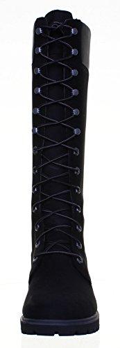 Timberland 3753R aus Nubukleder für Damen Stiefel kniehoch, 35.56 cm Black FV1