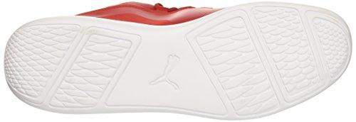 Puma Heren Sf Evo Kat Sneaker Rosso Corsa-rosso Corsa-puma Wit