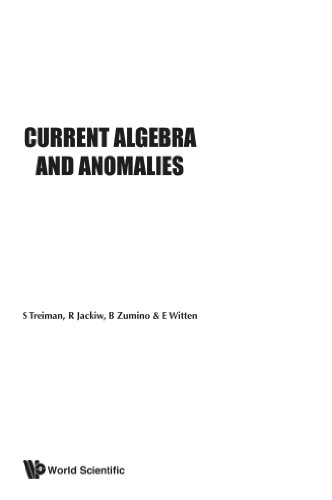 Current Algebra And Anomalies