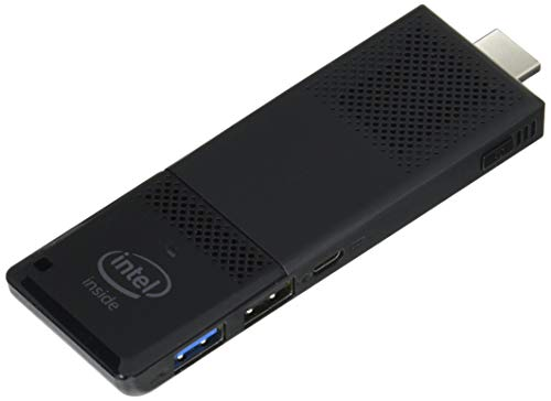 Intel Compute Stick CS125 Computer with Intel Atom x5 Processor and Windows 10 (BOXSTK1AW32SC),Black