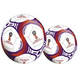 2018ワールドカップロゴサッカーボールサイズ5 B07CWX6W8D
