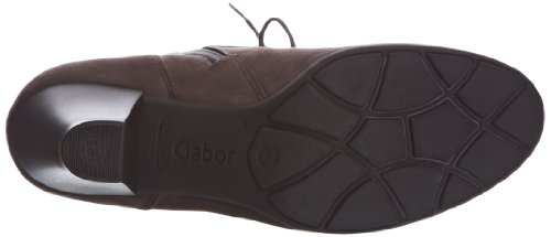 Gabor National L, Botines Tacón Gris (Anthrazit 19)