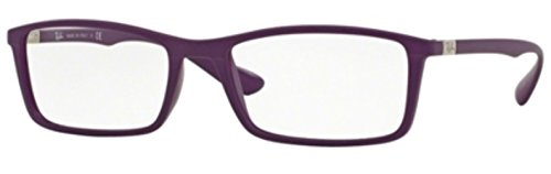 Ray-Ban RX7034F - 5443 Eyeglasses - Purple Bans Wayfarer Ray