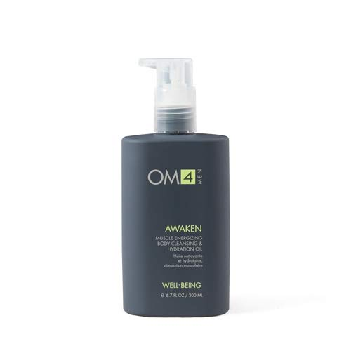 - Organic Male OM4 Awaken: Muscle Energizing Body Cleansing & Hydration Oil