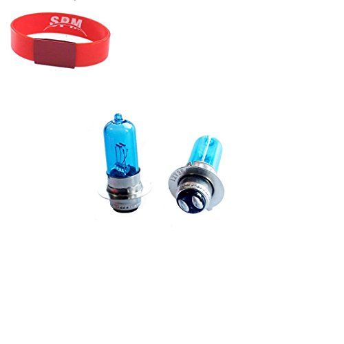 SPM Super White Headlight Bulb Lamp for Yamaha YFZ350 Banshee YFM350 Big Bear Grizzly Raptor Warrior Wolverine 350 Xenon Bulb