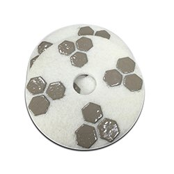 17 Inch Honeycomb Diamond Floor Polishing Pad- Honing Package by Dia-Plus (Image #2)