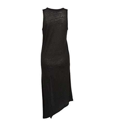 Gry36 Schwarz IRO Kleid Damen aus Karossi Leinen in Maxi Charcoal 8q6O8na