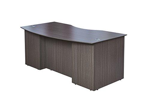 Ash Laminate Flooring (Boss Office Products N6001-DW Desk Shells, Driftwood)