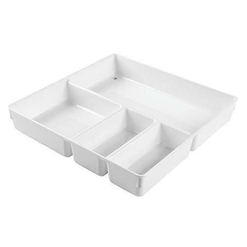 InterDesign Linus Kitchen Drawer Organizer for Flatware, Spatulas, Gadgets - 12