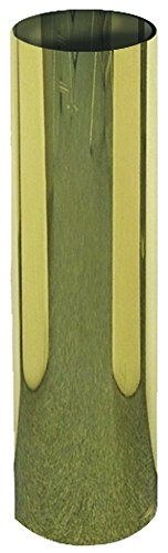 (Dixon SS424-P Polished Brass Sleeve for Sidewalk Free Standing Connection, 4