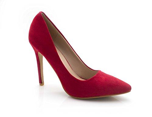 Greeniris Mode Faux Cuir Sacs /à main port/és /épaule Femme rouge