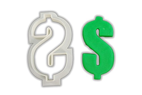Dollar Sign Cookie Cutter - LARGE - 4 Inches ()