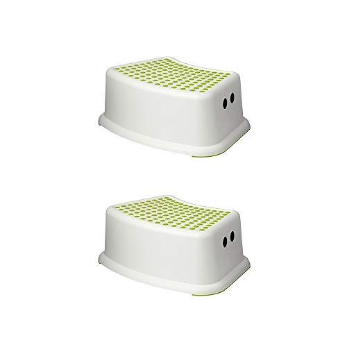 - Ikea Step Stool Green, White Children's (2 Pack)