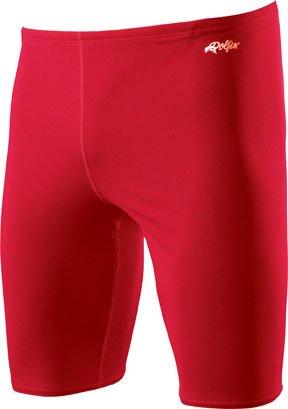 Dolfin Swimwear Solid Jammer - Red, 28