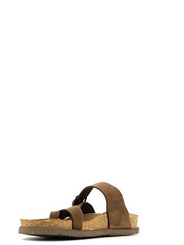 Mephisto - Sandalias de vestir para hombre Cuoio