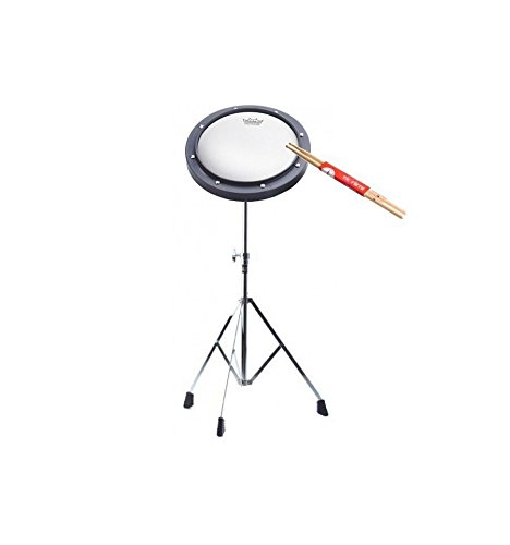 'Pack-Übungspad Remo 8 + Stand STAGG lpps-25r + Drumsticks 7 A