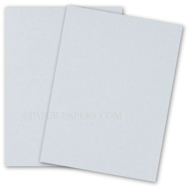 Cotton 134 Cover (Cranes Colors - 8.5 x 11 Card Stock Paper - AZURE BLUE - 100% Cotton - 134 Cover - 25 PK)