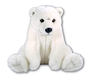 New Large White Polar Bear Soft Cuddly Toy Plush Stuffed Teddy By