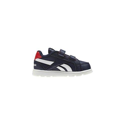 Reebok botas de caño bajo Unisex Niños Azul (Navy/Primal Red/White 000)