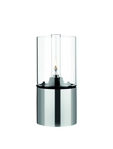 Stelton 1005 Classic Oil Lamp Stainless and Clear Glass (Stelton Oil Lamp)