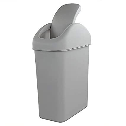 Amazoncom Cand 3 Gallon10 L Plastic Trash Can Swing Lid Trash
