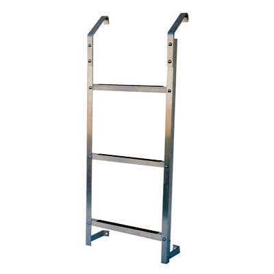 Dyne, Inc. 3 Step Ultra Protect Egress Basement Window Well Escape Ladder 3ESL by Dyne