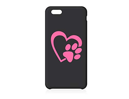 Dog Love Car Decal Paw Print Love Decal