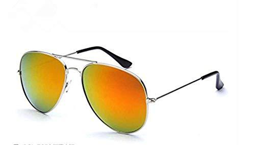 Aviator de lunettes Cadre pilote soleil hommes rouge soleil New lunettes Mercury cadre femmes dames lunettes Vintage lunettes de OMAS argenté Fashion pilote XgzpEq