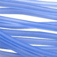 Soft Glass Tubing 2.5mm Light Blue (10 Foot Piece) (Soft Glass Tubing)