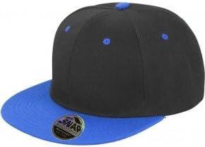 Gorro unisex estilo Hip Hop, diseño en 2 tonos, azul: Amazon.es ...