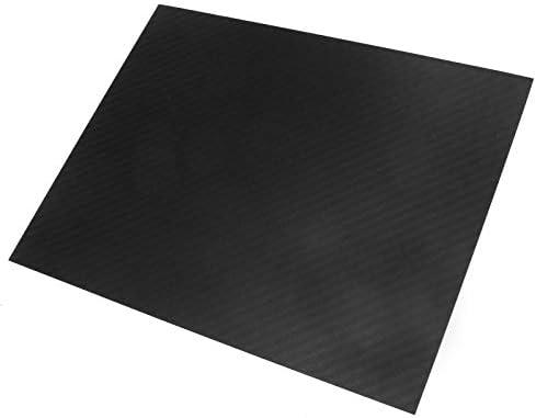 Carbonplatte 0,5 mm x 200 x 250m GFK Karbon Platte beidseitig Matt Kohlefaserplatte Karbon