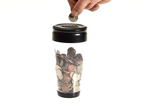 Digital Coin Tumbler - Coin Counter Change Organizer fits Car Cup Holders Cars - Automatically Totals the Value of U.S. Coins Photo #3